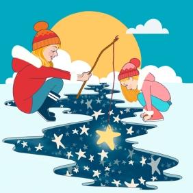 A la pêche aux étoiles